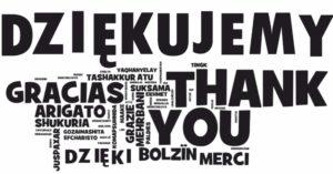 dziekujemy